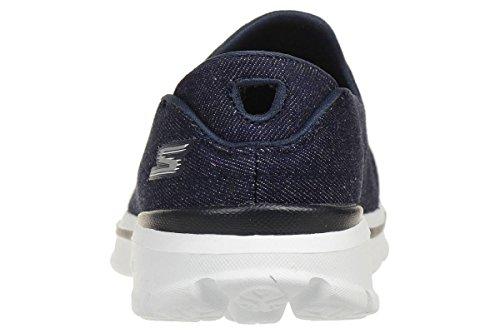 Skechers Go Walk 3, Sneaker Basse Donna Blu