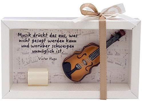 ZauberDeko Geldgeschenk Verpackung Musik Konzert Klassik Geige Orchester Musiker Geschenk Violine