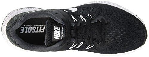 Nike Zoom Winflo, Running Femme Noir (Black/White Anthracite)
