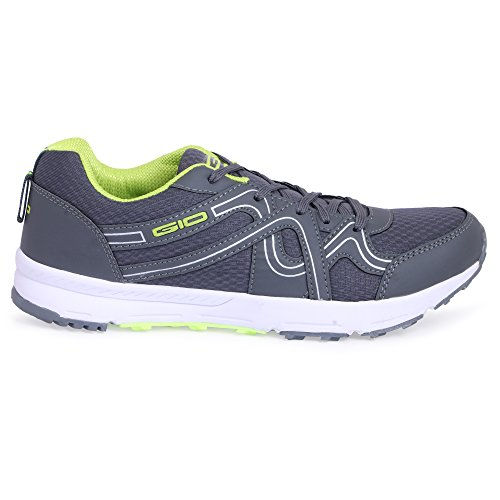 GoldStar D.Grey/P.Green Running Shoes