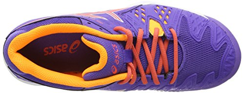 Asics Gel-Resolution 6 Clay GS, Scarpe sportive, Unisex-bambino Lavender/Hot Coral/Nectarine 3306