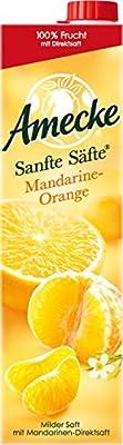 Amecke's Sanfte Säfte Mandarine Orange, 6er Pack (6 x 1 l Packung)