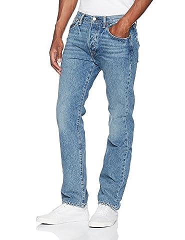 Levi's Herren Straight Leg Straight Jeans 501 LEVI'SORIGINAL FIT 00501, Gr. W33/L30, Blau (Crosby