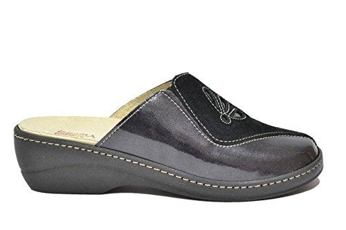 Cinzia Soft Ciabatte scarpe donna nero PLANTARE ESTRAIBILE IAEH33-CP 38