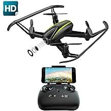 Potensic Drone U36W con Control Remoto, Función de Estabilización de Altitud, WiFi FPV 2.4