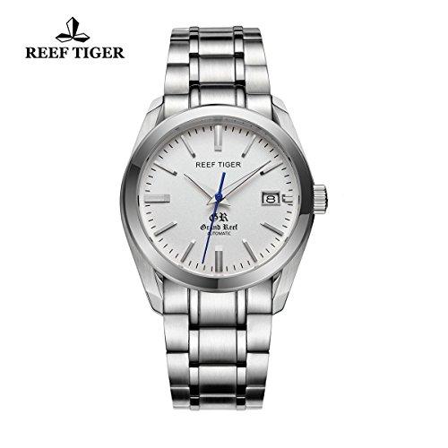 reef-tiger-herren-kleid-armbanduhr-mit-datum-edelstahl-wei-zifferblatt-automatik-uhren-rga818
