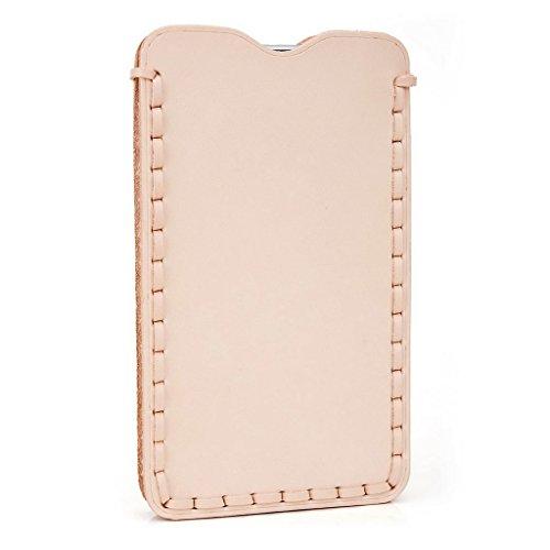 Kroo Étui ultra fin en cuir véritable pour téléphone portable SHUKAN Q470/Gloire Q5 Marron - peau Marron - peau