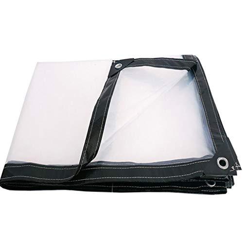 Yang Lona Transparente Tela Impermeable A Prueba De Lluvia Cobertor Impermeable Espesar Cubrir La Lluvia 2X3m - Opciones de tamaño múltiple (Tamaño : 2X4m)