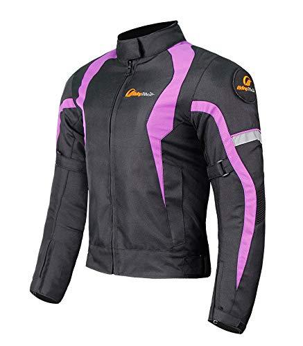XuBa - Chaqueta y Pantalones de Moto para Mujer para Mantener Caliente...
