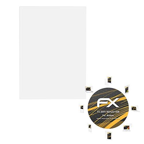 atFolix Panzerfolie kompatibel mit Andoer Digitaler Bilderrahmen 15 Zoll 1024x768 Schutzfolie, entspiegelnde und stoßdämpfende FX Folie