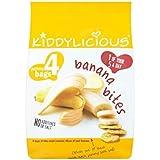 Morsures De Bananes Kiddylicious (De 4X15G)