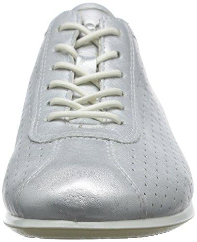 ECCO Touch Sneaker, Scarpe da Ginnastica Donna Argento(Silver Metallic 1097)