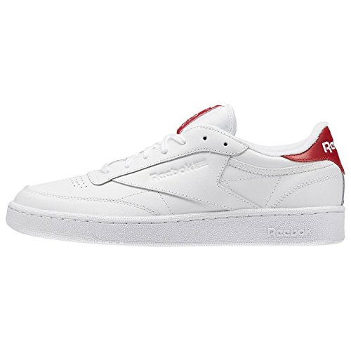 Club C 85 El White/Exclnt Red