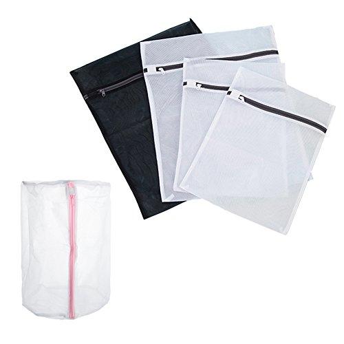 Aspire Wash Bag Travel Wäschesack Dessous Staubbeutel für Unterwäsche BH Schutz, Set von 5 (Mesh Aspire)