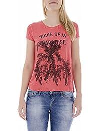 """Maison scotch t-shirt pour femme sticker autocollant """"j'aime"""" en allemand"""