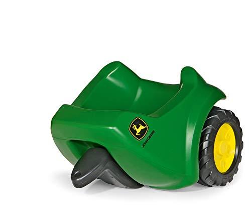 Rolly Toys 122028 rollyMinitrac Trailer John Deere, Anhänger für Rutscher Traktor rollyMiniTrac, ab 1,5 Jahren