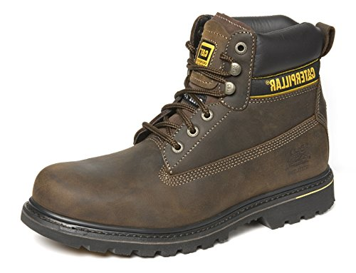 Caterpillar–Holton in pelle e gomma Goodyear, Brown