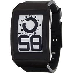 Phosphor DH04 - Reloj de Pulsera Hombre, Caucho, Color Negro