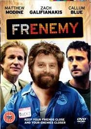 FRENEMY - Starring Zach Galifianakis from The Hangover REGION 2 DVD