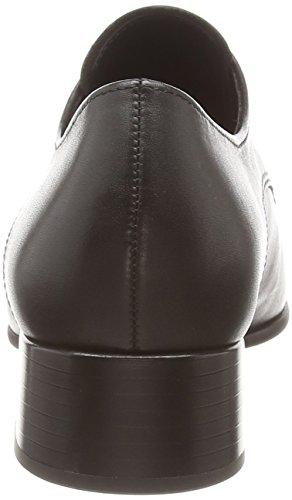 Gabor Arrive, Derby à lacets femme Noir (cuir noir)