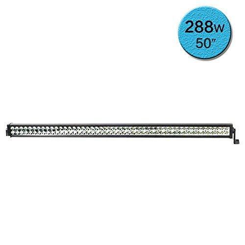 KDGWD Barra luminosa a LED 288W CREE LED chip bar raggio di curvatura rimorchi leggeri lavoro bar carrier auto fuoristrada modifica del veicolo fendinebbia a LED