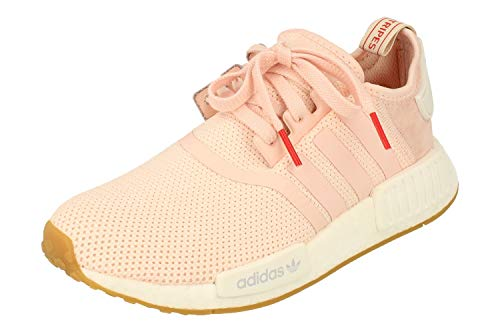 adidas Originals NMD_R1 Damen Running Trainers Sneakers (UK 7.5 US 9 EU 41 1/3, pink White Gum BB7588)