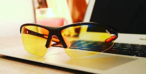 VOLTION Nachtsichtbrille Anti-Glanz Fahren Brillen Kontrast-Brille Nachtfahrbrille polarisierte