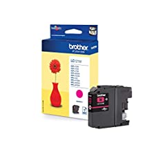 Brother LC-121M Inkjet Cartridge, Magenta, Single Pack, Standard Yield, Includes 1 x Inkjet Cartridge, Brother Genuine Supplies