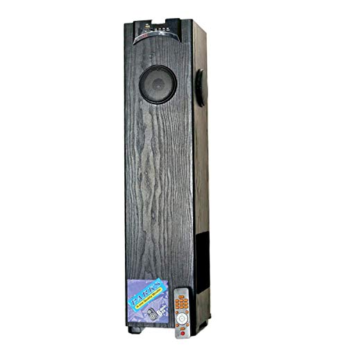 Parks(Cellmart) Home Entertainment Floor Standing Tower Speaker with 5.25 Inch Woofer 2.5 Feet Height (Black)