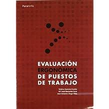EVALUACIÓN ERGONÓMICA DE PUESTOS DE TRABAJO (Ingenieria (paraninfo))