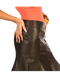 Leatherotics Real Leather hobble Style Skirt Tight Fit UK 1306