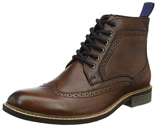 Lotus Men's Aldridge Boots, Brown (Brown Leather), 8 UK 42 EU