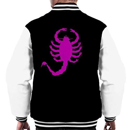 Cloud City 7 Drive Scorpion Minimal Men's Varsity Jacket