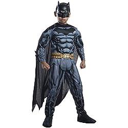 Rubie's IT881365-S - Costume Batman Deluxe con Muscoli, S