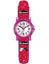 Scout Mädchen-Armbanduhr Analog Quarz Textil 280375005