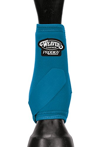 Weaver Leder Prodigy Athletic Stiefel, 35-4296-S8, Turquoise/ 4 Pack, M