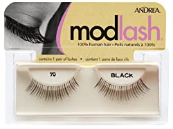 Andrea Mod Strip Lash Pair Style 70, (Pack of 4)
