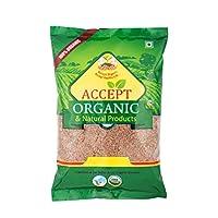 Accept Organic Flex Seed/Alsi 0.5 KG Pack of Healthy & Organic Food