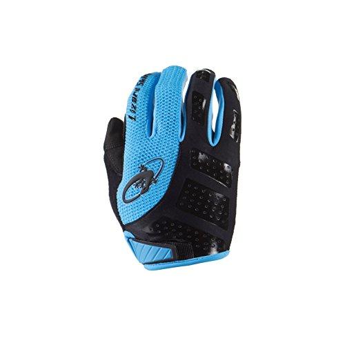 Lizard Skins Monitor Handschuhe Unisex, Uni, Monitor, schwarz/blau, Taille XL - Lizard Monitor