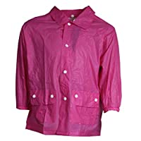 Piove raincoat girls pink size XL