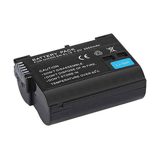 Pudincoco EN-EL15 7V 2550MAH Batería de ión de Litio segunda mano  Se entrega en toda España