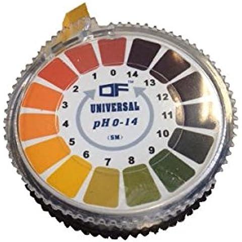 Rotolo/Strisce Tornasole di pH Indicatore Universale (0 a 14 pH - 1) 5mt