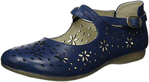 Josef Seibel Damen Fiona 29 Geschlossene Ballerinas, Blau (Jeans), 39 EU