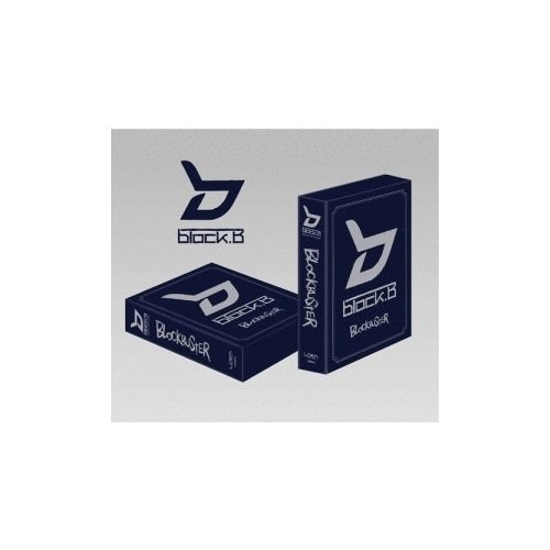 Blockbuster (Vol. 1) [Special Limited Edition] CD+Special Photo Collection + Cheer Flag + Button+ FREE GIFT(The Face Shop Mask Pack Sheet) (Blockbuster Block B)