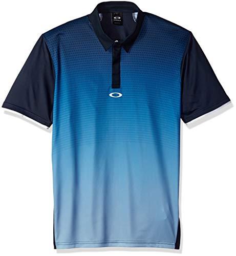 Oakley Herren SS Poliammide Stretch Leichtes Golf-Polo-Hemd - Fathom - M