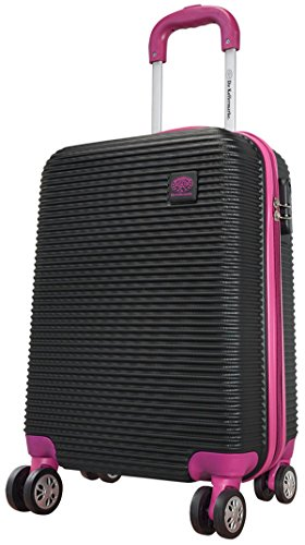Valise SANTORIN VIOLET Taille M Carbone/polycarbonate ABS rigide Noir Valise trolley Case FA. bowatex