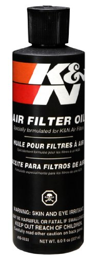 K&N Filters 99-0533 Air Fltr Oil 8oz. Bottle