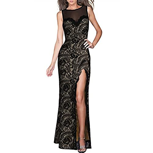 Black evening maxi dresses uk