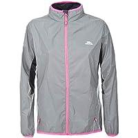 Trespass Women's Lumi Active Windproof and Waterproof Cycling and Running Outdoor Luminous Jacket