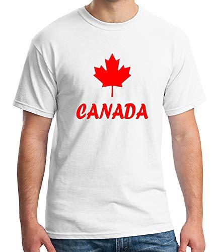 Maple Leaf Forever Tee for Men Canadian Symbol Adult's T-Shirt -